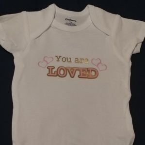 12 month short sleeve customized baby onsie
